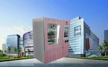 China CE FCC Winnsen Wine Vending Machine For Shopping Mall With Credit Card Reader Payment usine
