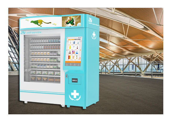 24 Hours Pharmacy Vending Machine Kiosk , Automatic Medicines Vending Machines